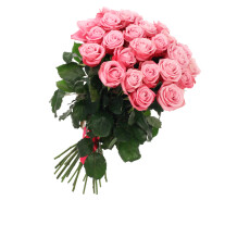 Bunch of 21 Pink Roses